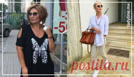 Готовимся к лету! Летний гардероб для женщин 50 лет от Эвелины Хромченко | ladyline.me | Яндекс Дзен