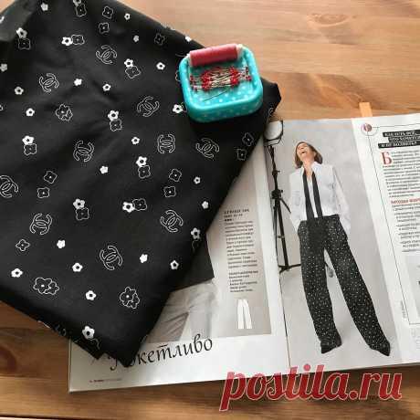 Быстро и красиво: шьём домашние брюки по выкройке Burda — Мастер-классы на BurdaStyle.ru