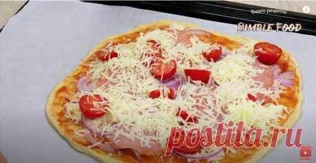 Пицца без дрожжей - это настоящая пицца, как в пиццерии.
