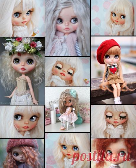 Коллекционные куклы Blythe
