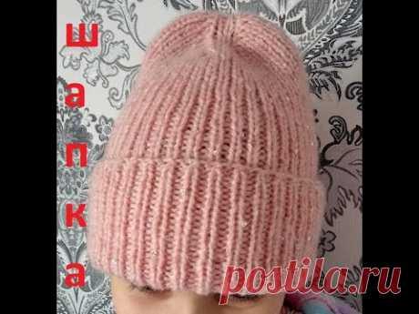 Модная шапка своими руками