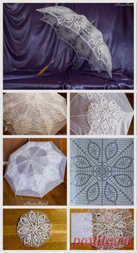 Crochet Umbrella Tutorial