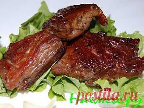 Нежное жареное мясо с хрустящей корочкой » Наемся.Ру - Кулинарные рецепты