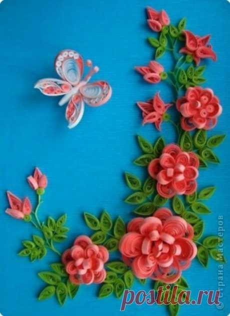 «Цветы из бумаги квиллинг картины » — карточка пользователя lenkabro.18.18 в Яндекс.Коллекциях