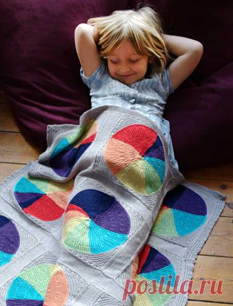 Easy as Pie Blanket : Knitty Spring+Summer 2013