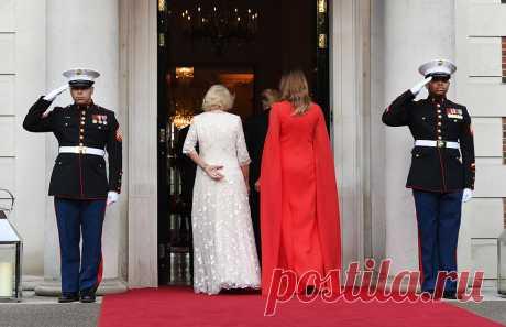 Красная помада и босоножки: что этикет запрещает женам президентов :: Жизнь :: РБК.Стиль