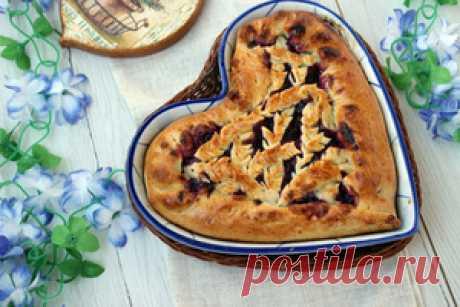 Пирог с черной смородиной и малиной рецепт с фотографиями