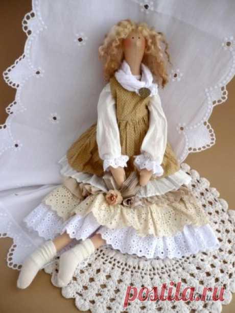 Мини МК от Юлии Чариковой. Как сделать одежду в стиле Бохо для куклы.
