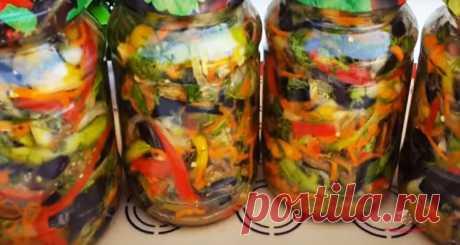 Корейский салат на зиму - Лучший сайт кулинарии