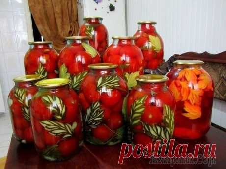 10 рецептов консервирования помидоров