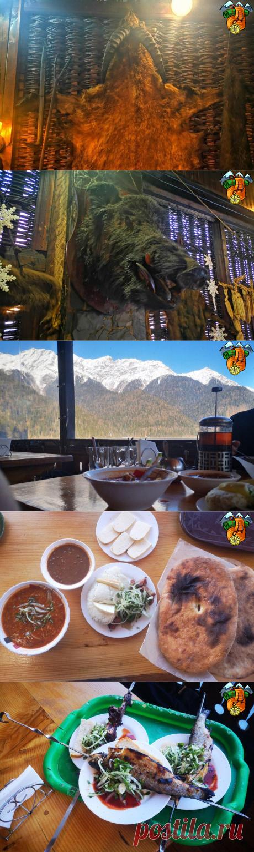 Обед в живописном месте. Рица, Абхазия   Вкусно, недорого, незабываемо   Тур в Мир   Яндекс Дзен