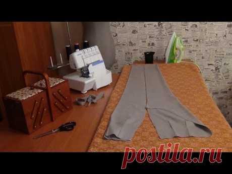 Как шить брюки: влажно-тепловая обработка