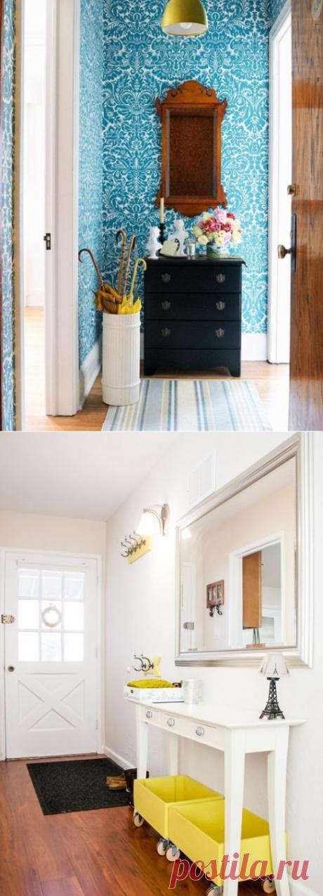 Как сделать маленькую прихожую очаровательной | Мой дом