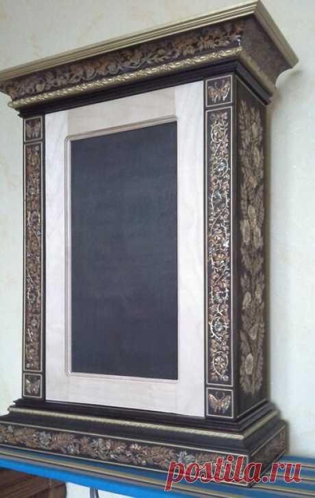 Делаем красивый шкафчик с мозаикой (часть 7) | Блоги о даче и огороде, рецептах, красоте и правильном питании, рыбалке, ремонте и интерьере