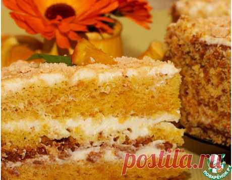Апельсиновый бисквит для торта – кулинарный рецепт