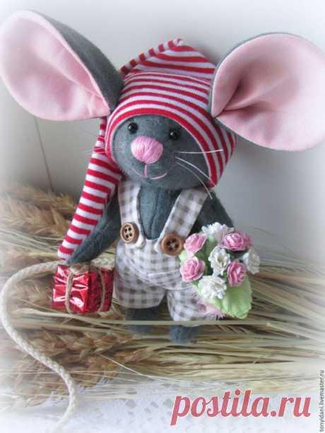 Кукла Мышка. Подарок на Новый год
