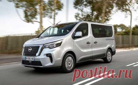 Обновленный Nissan NV300 Combi 2021