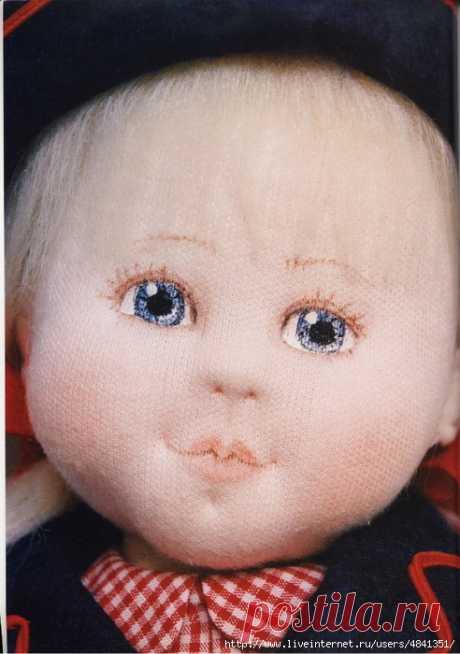 Книга.Выкройки чудесных текстильных кукол с комплектами одежды.