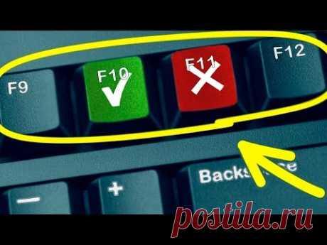 Для чего кнопки с буквой F и цифрами от 1 до 12?