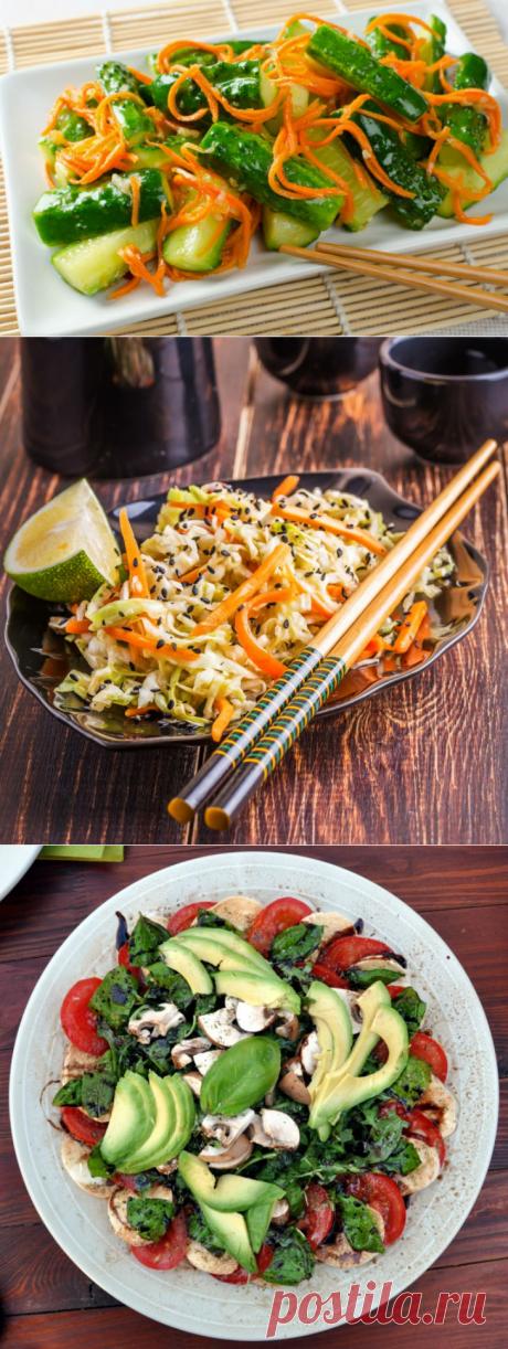 7 вкуснейших салатов без майонеза