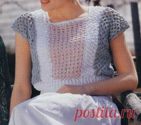 Подборка летних маек, топов, кофточек крючком, со схемами   Sana Lace Knit   Яндекс Дзен