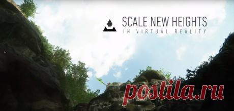 The Climb – новая игра для очков виртуальной реальности Студия разработки Crytek, известная сериями Crysis и Far Cry, опубликовала на официальном YouTube-канале трейлер новой игры The Climb (https://youtu.be/86iCQEKiX_w), разрабатываемой специально для очков и шлемов виртуальной реальности. В новом проекте геймерам предстоит «бороться с гравитацией, лазить по скалам, преодолевать большие расстояния, испытывать головокружение и страх высоты».
