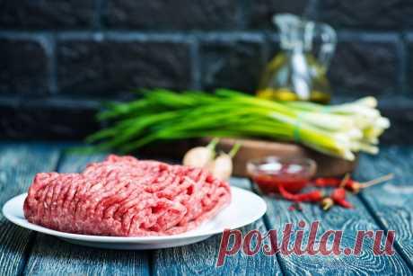 Подборка блюд из мясного фарша - Четыре вкуса - медиаплатформа МирТесен