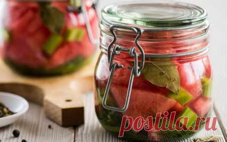 Арбузы на зиму: фото, простые рецепты варенья, желе, цукатов и других заготовок