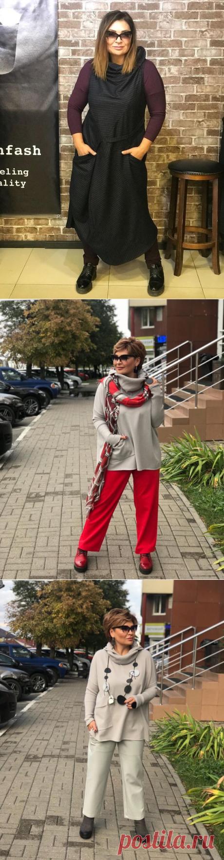 Осенне-зимний БОХО: Лучшие образы для зрелых дам | Новости моды