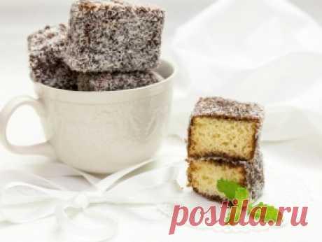 Ламингтон (австралийское пирожное) — рецепт с фото пошагово