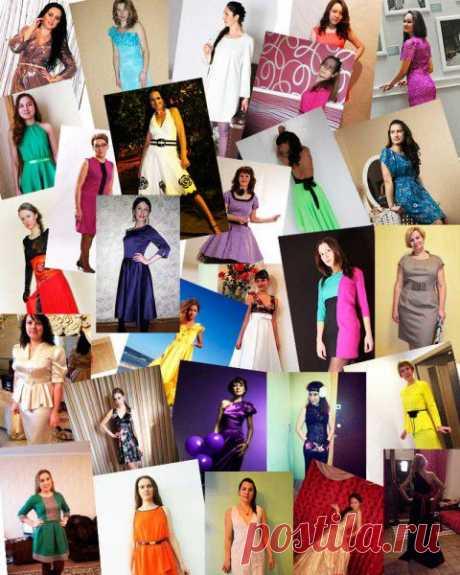Платье, платье, платье Выкройки платьев ШКОЛЫ ШИТЬЯ Анастасии Корфиати