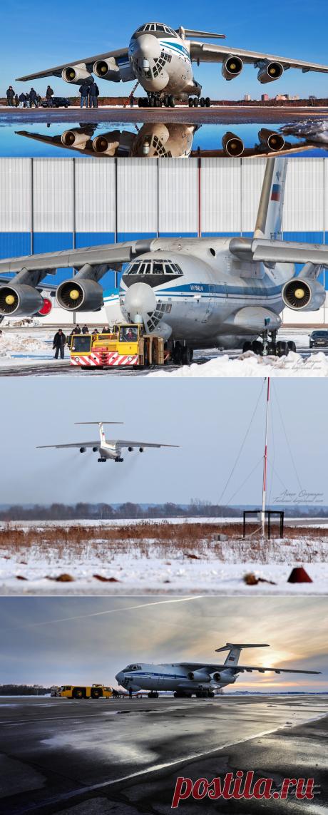 ВООРУЖЁННЫЕ ИЛЫ. Модернизированный военно-транспортный самолёт Ил-76МД-М совершил первый полёт