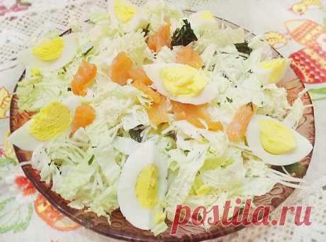 Неповторимый тандем слабосоленой горбуши и пекинской капусты - рецепт с фото пошагово