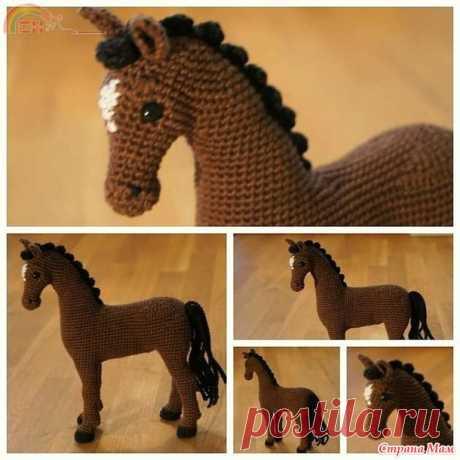 Моя лошадка... Добавила ссылку - Амигуруми - Страна Мам