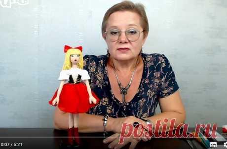 Мастер класс- кукла Дюймовочка. Часть 1 | Разнообразные игрушки ручной работы