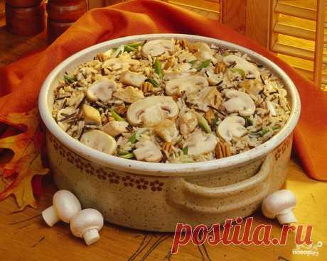 Постный плов с грибами - пошаговый рецепт с фото на Повар.ру