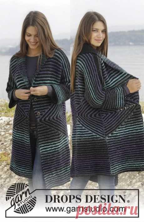 Вязание-спицы-Безрукавки и Жакеты >Кардиган
