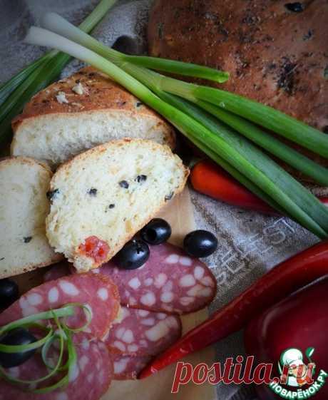 """Хлеб итальянских бабушек """"Чамбелла"""" – кулинарный рецепт"""