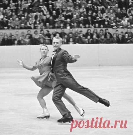 Нина и Станислав Жук, 1959 год. Автор-Доренский Леонид. ИТАР-ТАСС-Архив