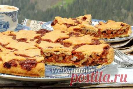 Швейцарский ореховый пирог рецепт с фото на Webspoon.ru