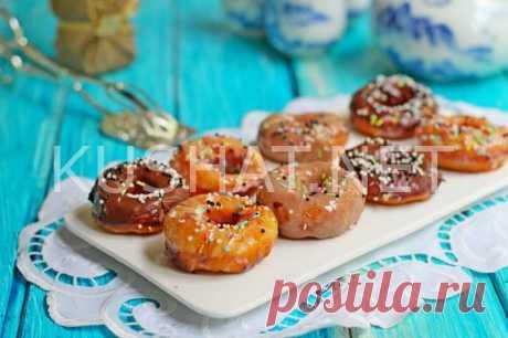 Дрожжевые пончики на молоке. Пошаговый рецепт с фото • Кушать нет