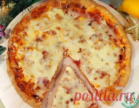 Пицца с лечо по-болгарски – кулинарный рецепт