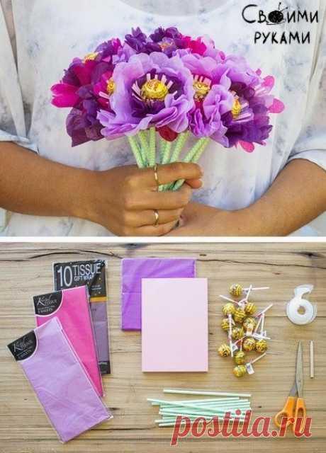 Bouquet from Chupa Chups