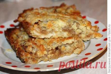 Рецепты пирогов: вишневый и яблочный