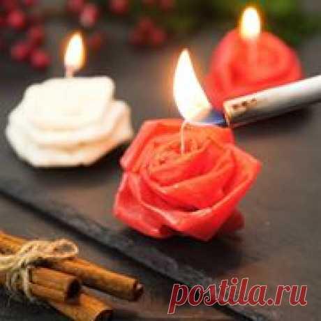Красивые свечи, которые легко сделать дома