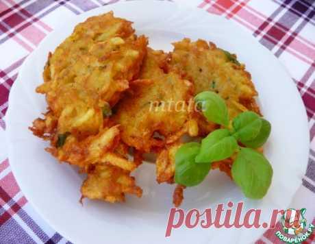 Картофельные оладьи по-немецки