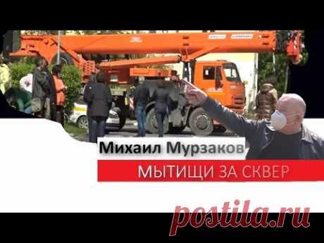 Мытищи за сквер. Мурзаков поддержал протест