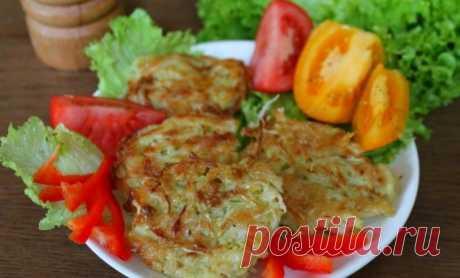 Кабачковые оладьи с капустой — Sloosh – кулинарные рецепты