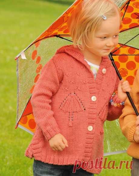Кофточка спицами, вяжем детям! из категории Интересные идеи – Вязаные идеи, идеи для вязания