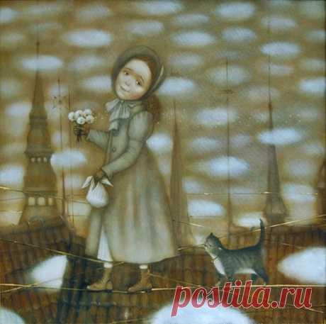 Русская художница Наталья Сюзева